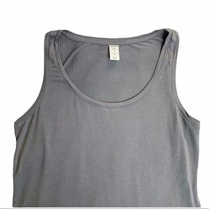Old Navy Grey Modal Tank Top Size S